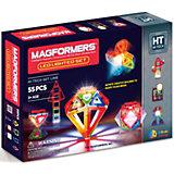 Магнитный конструктор Led Lighted, MAGFORMERS