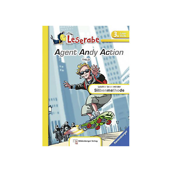 Leserabe: Agent Andy Action, 3. Lesestufe
