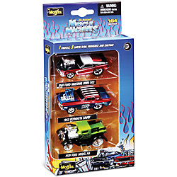 "����� �� 3-� �������� ����� ""Muscle Machines"" 1:64 , � ������������, Maisto"