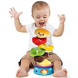 Развивающая игрушка-пирамидка «Веселый бутерброд», Bright Starts