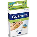 Пластырь пластинки для детей с рисунком, 10 шт., Cosmos kids