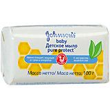 Детское мыло Pure Protect 100 гр , Johnson`s baby