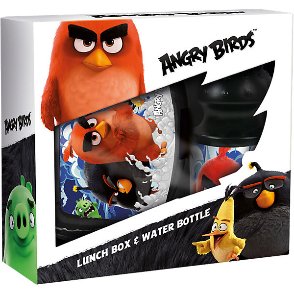 Pausenset Angry Birds, 2-tlg.