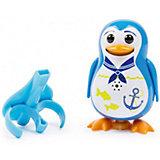 Поющий пингвин с кольцом, синий, DigiBirds
