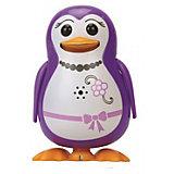 Поющий пингвин с кольцом, фиолетовый, DigiBirds