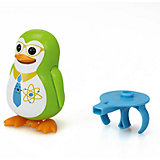 Поющий пингвин с кольцом, зеленый, DigiBirds