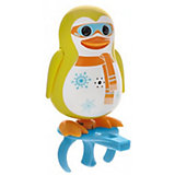 Поющий пингвин с кольцом, желтый, DigiBirds