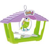 Птичка с домиком, зеленая, DigiBirds