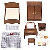 """Набор """"Спальня"""" Sylvanian Families, коричневый"""