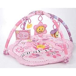 """Развивающий коврик с подвесными игрушками """"Розовый сон"""", Leader kids"""