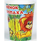 """Набор из 6-ти стаканчиков """"Львенок и Черепаха"""""""