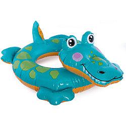 """Детский надувной круг """"Зверюшка - Крокодил"""", Intex"""