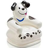 """Детское надувное кресло """"Веселые звери -Собака"""", Intex"""