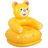 """Детское надувное кресло """"Веселые звери -Медведь"""", Intex"""
