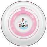 """Тарелка """"Любимая"""" от 6 мес. с присоской, LUBBY, розовый"""