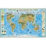 """Карта """"Животный и растительный мир Земли"""""""