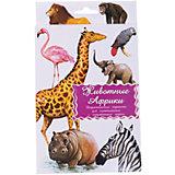 """Дидактические карточки """"Животные Африки"""""""