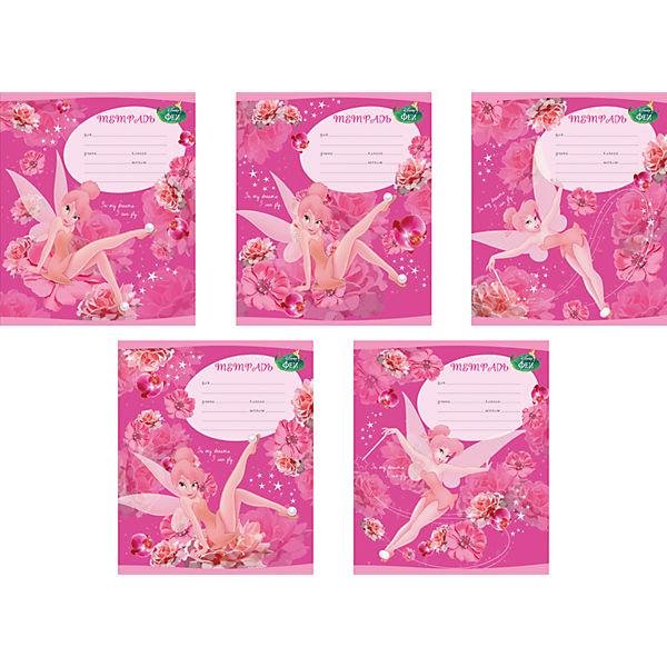 """Школьная тетрадь """"Tink Pink"""", 12 л., 10 шт."""