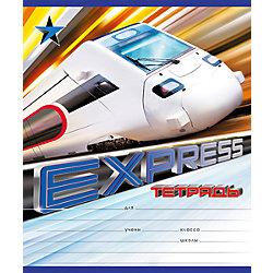 "Тетрадь ""Express train"", 18 л., 10 шт., в линейку"