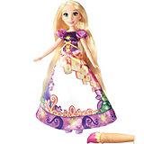Модная кукла Рапунцель в юбке с проявляющимся принтом, Принцессы Дисней