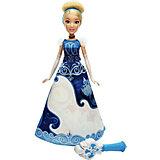 """Модная кукла """"Принцесса в юбке с проявляющимся принтом"""", Принцессы Дисней, B5295/B5299"""