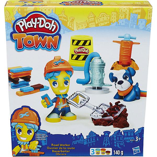 """Игровой набор """"Житель и питомец"""", Город, Play-Doh, B3411/B5972"""