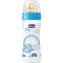 Бутылочка Well-Being Boy 2мес.+, лат.соска, РР,250мл., CHICCO
