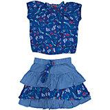 Комплект: блузка и юбка для девочки PELICAN
