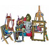 """Сборная модель """"Коллекционный набор мебели """"Мастерская художника"""""""