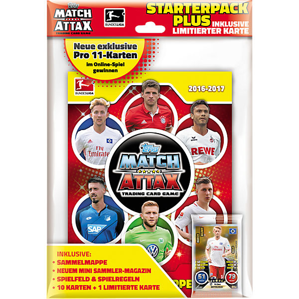 Topps - Match Attax 2016/17 Starterpack Plus