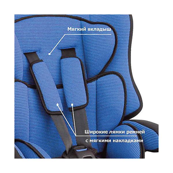Автокресло Siger Прайм isofix 9-36 кг, синий
