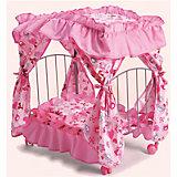 Кровать для кукол с балдахином, Melobo