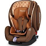 Автокресло Encore Fit SideArmor & CuddleMe ISO-FIX, 9-36 кг., Welldon, Hallmarks Brown