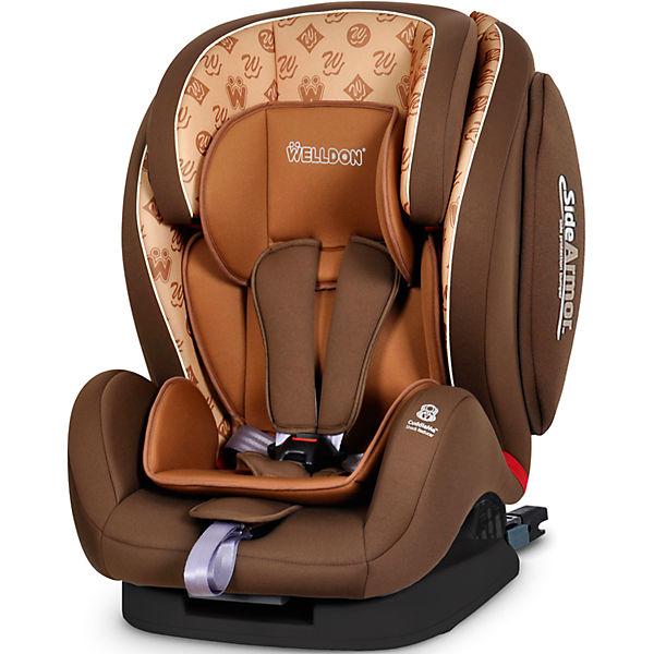 Автокресло Welldon Encore Fit SideArmor & CuddleMe ISO-FIX, 9-36 кг, Hallmarks Brown