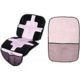 Набор коврик + органайзер, Welldon, розовый
