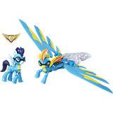 """Игровой набор Hasbro My little Pony """"Харнители Гармонии"""" Спитфайр и Соарин (свет, звук)"""