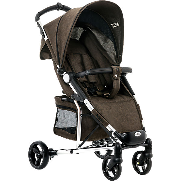 Buggy KISS City, brown/melange