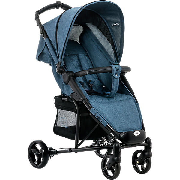 Buggy KISS City, blue/melange