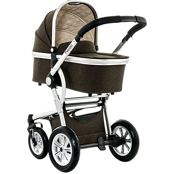 Kombi Kinderwagen TREGG City, brown/melange