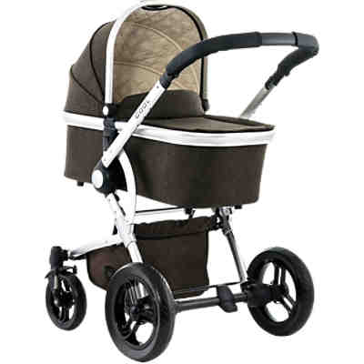 Kombi Kinderwagen COOL City, brown/melange