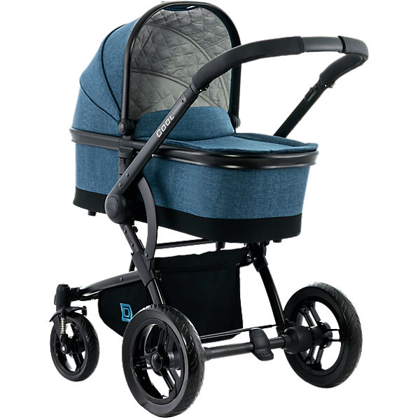 Kombi Kinderwagen COOL City, blue/melange
