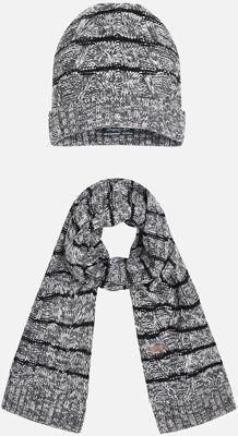 Комплект: шапка-шарф для мальчика Mayoral - серый