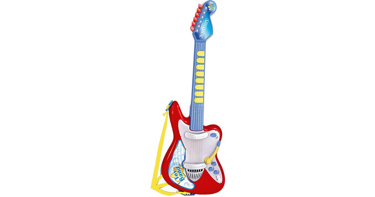 Elektronische Rockgitarre