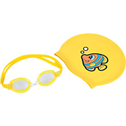 Набор для плавания, Bestway, желтый