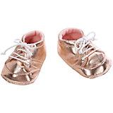 Ботиночки, Baby Annabell, золотой