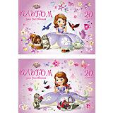 "Альбом для рисования ""Sofia in flowers"", А4, 20 л."