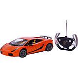 RASTAR Радиоуправляемая машина Lamborghini 1:14, оранжевая
