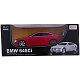 RASTAR Радиоуправляемая машина BMW 645Ci 1:24, красная