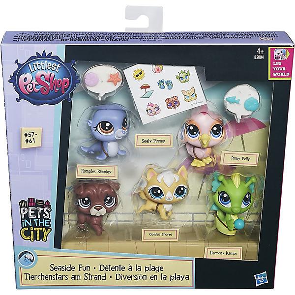 Мульти-набор зверюшек, Littlest Pet Shop, B5004/B0282