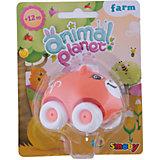Машинка Animal Planet, Smoby, оранжевая